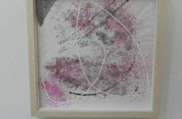 Monoprint in roze (1)